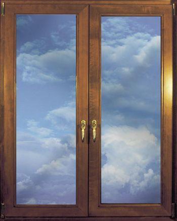 Finestra in legno idealcoibent - Ferramenta per chiusura finestre ...