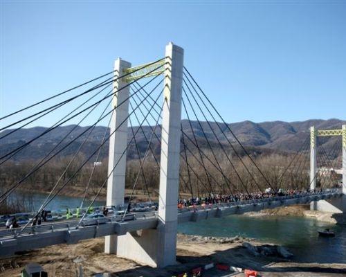 Ponte strallato sull'Adda: architettura a basso impatto ambientale