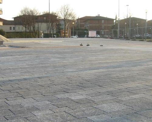 Realizzate le prime pavimentazioni con Rocciablock – Via Iulia®