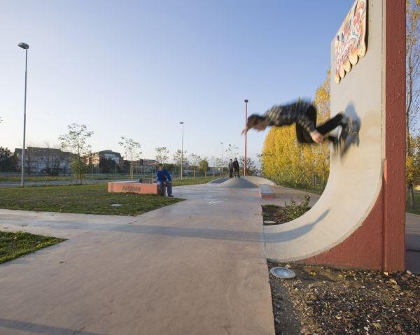 Pavimix® di Calcestruzzi per la pista di skateboard