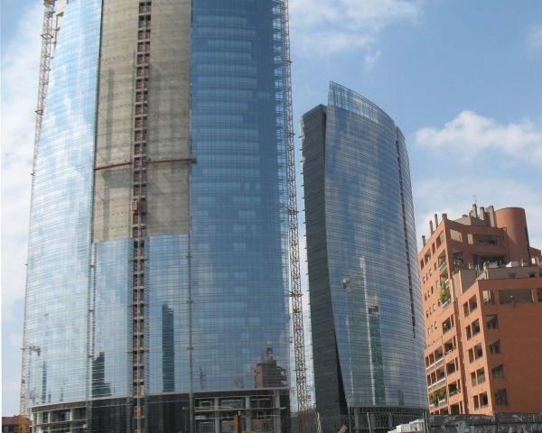 Calcestruzzo strutturale ecosostenibile BetonPiù per l'Isola di Milano