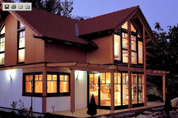 Griffnerhaus la natura di casa for Case in legno griffner