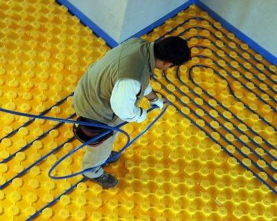 Rdz la corretta progettazione degli impianti pavimento - Tappeto riscaldamento pavimento ...