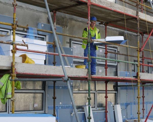 Pannello termoisolante Ecap di Edilteco Group per gli edifici scolastici in Irlanda