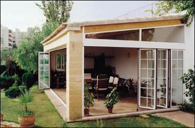 Verande e giardini d 39 inverno sunroom - Verande da giardino in legno ...