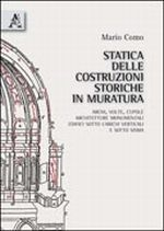 Statica delle costruzioni storiche in muratura