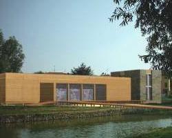 Progetto per un centro ambientale del parco Adda Nord nella riserva naturale del lago di Sartirana
