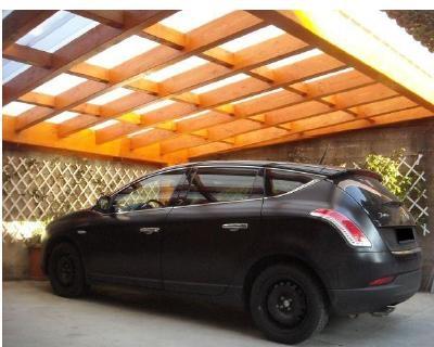 Auto protette con le strutture green di AB Legno