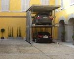 Risposta tecnologica al problema del posto auto nei cortili dei centri storici