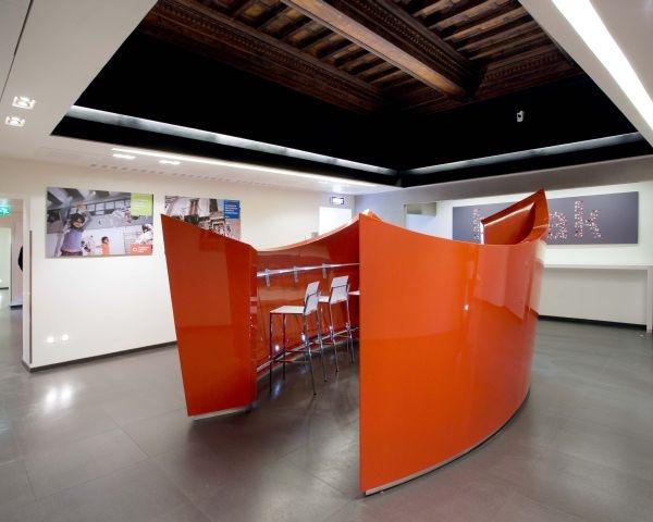 Restauro della sede Vodafone Italia all'interno di Palazzo Odescalchi in Roma