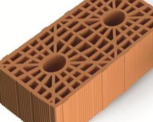 Alveolater BIO Taurus, nuovo blocco di laterizio per il sistema brevettato di muratura armata