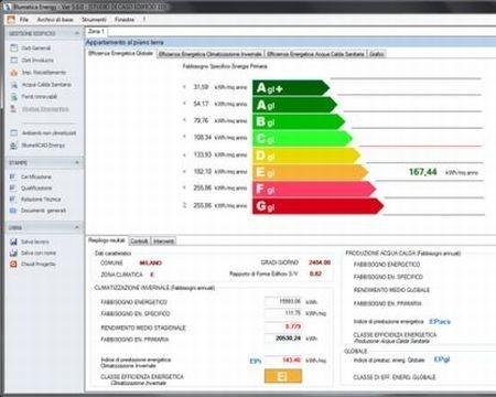 Blumatica Energy per la certificazione energetica