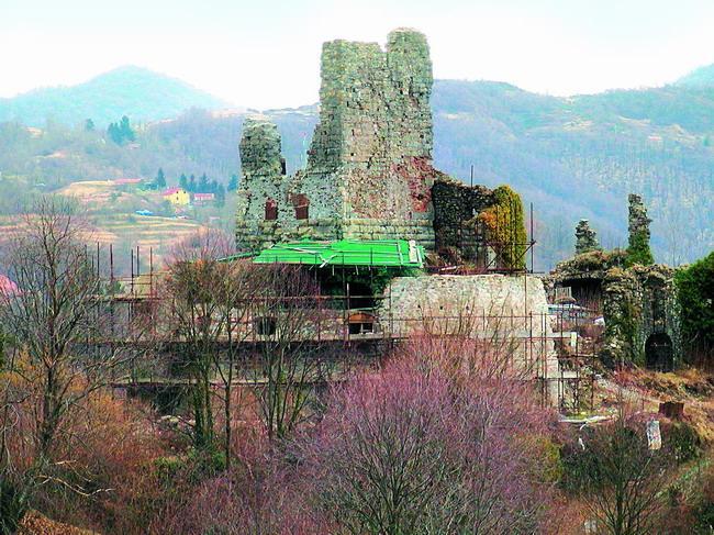 Gli interventi di restauro del castello dei Fieschi a Torriglia