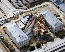 Casseforme a travi per pareti per il museo di storia di Dresda