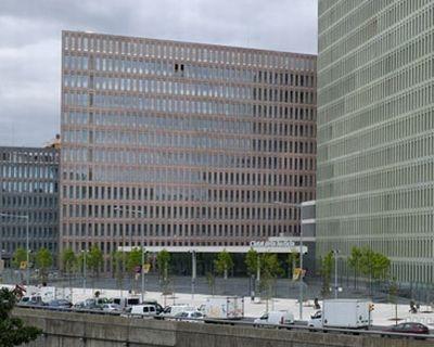 Pannello isolante TEXLOSA sulla copertura piana della Ciudad de la Justicia di Barcellona