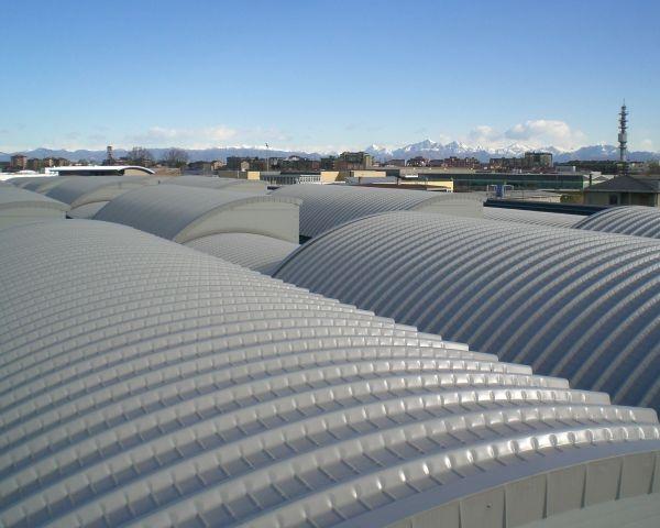 Nuovo Elycop a raggio 6 m: cresce la gamma del  pannello di copertura per l'industria