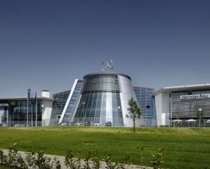 Mercedes Benz Brand Center di Milano