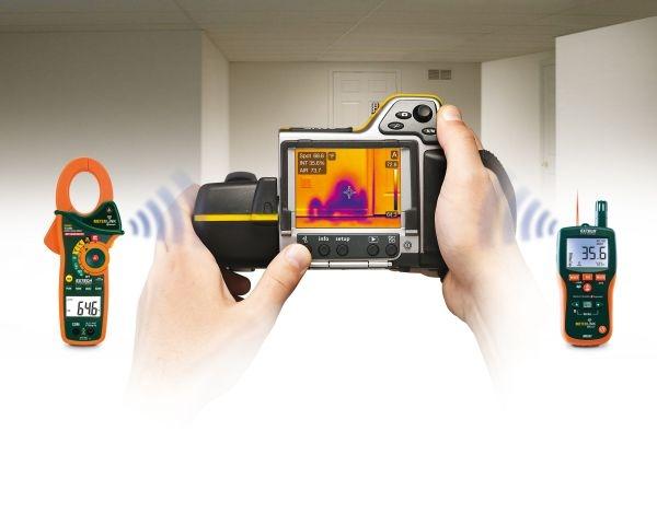 MeterLink™, tecnologia per connessione wireless tra termocamere FLIR e misuratori di umidità