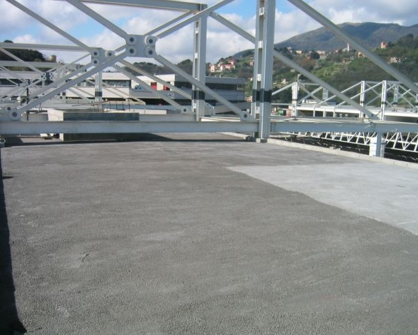 Soluzione isolante Leca per il nuovo complesso ortofrutticolo di Genova