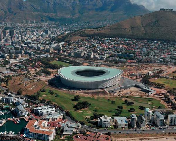 Uponor per lo stadio di Cape Town
