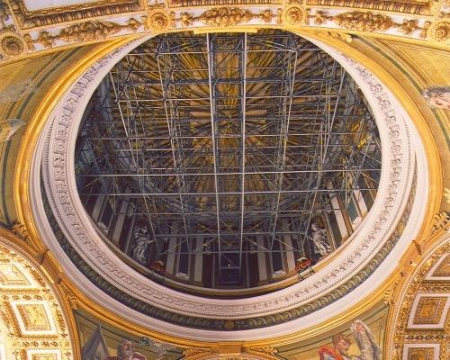 Sotto la Cupola di San Pietro
