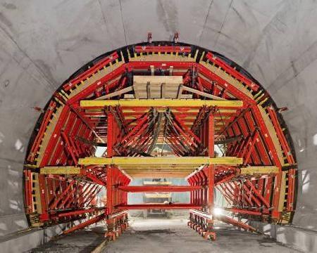 PERI realizza in tempi da record il nuovo tunnel del traforo del Pfänder in Austria