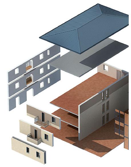 L'intervento Wood Beton a L'Aquila