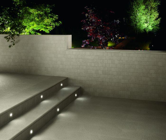 Ceramiche keope presenta il nuovo sistema di illuminazione for Illuminazione led casa esterno
