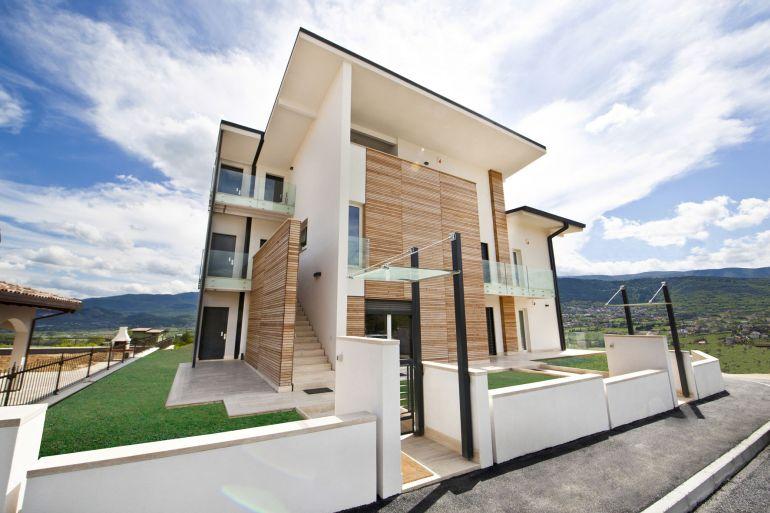 I sette vantaggi di costruire una casa in legno for Costruire una casa in legno