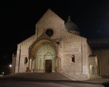 Progetto illuminotecnico per il Duomo di San Ciriaco ad Ancona