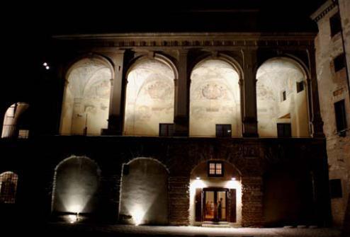 Mantova illuminazione del percorso gonzaghesco