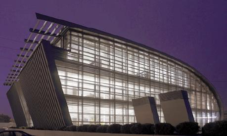 Integrazione della luce in un edificio ad uso ufficio