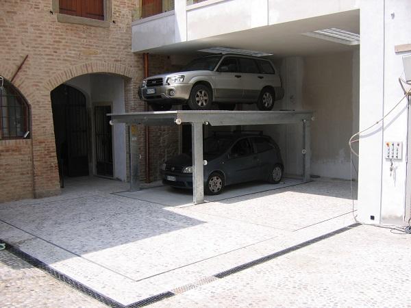 Parcheggi meccanizzati e box a scomparsa - Garage mobile per auto ...