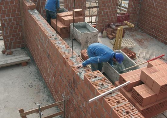 Blocchi poroton per muratura armata - Casa in muratura portante ...