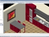 Rappresentazione 3D interni