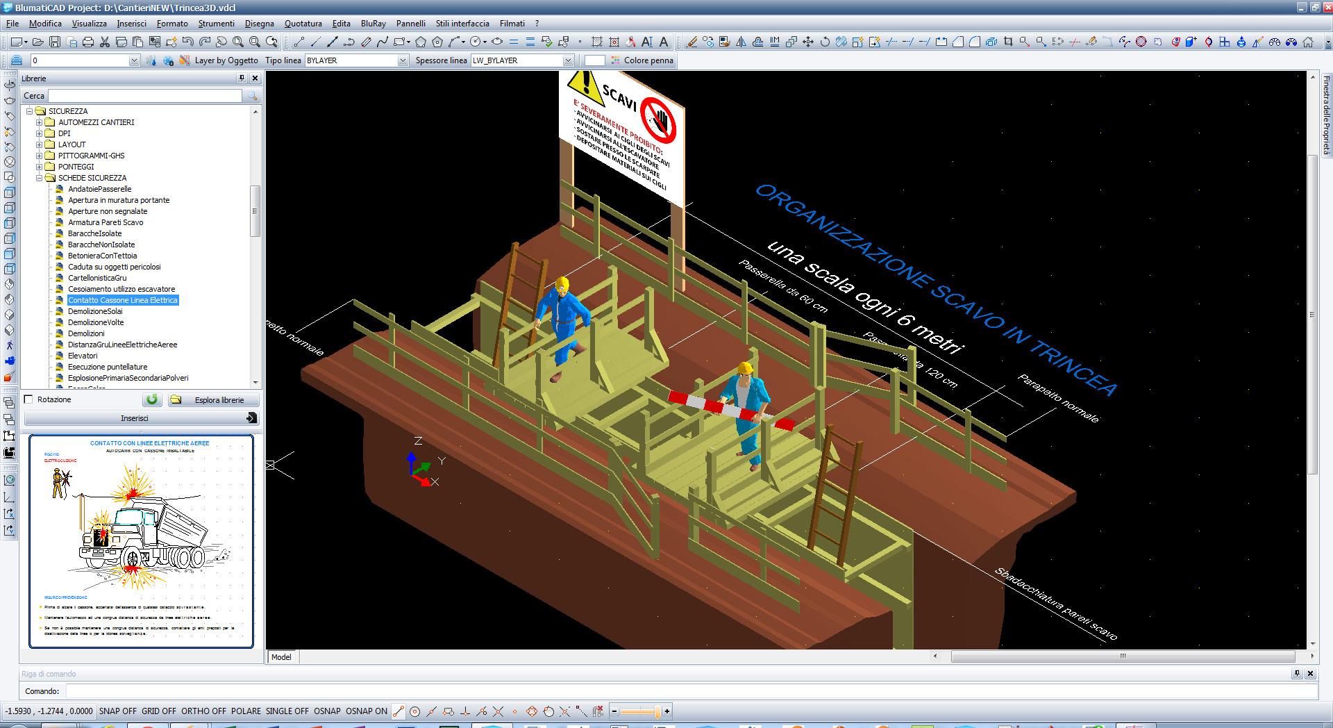 Blumaticad project per disegni 2d e 3d for Programma casa 3d
