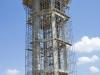 Apeo de depósito a 24 m de altura