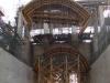 Curvatura ottenuta mediante traverse e sagome in legno