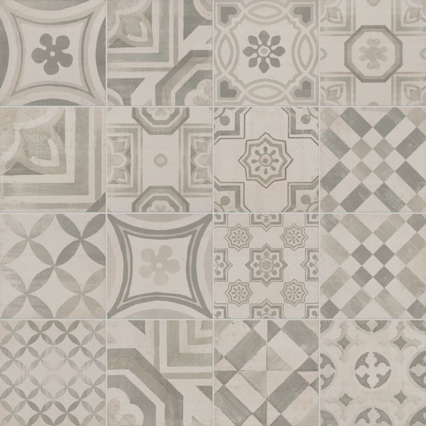 Cementine gres porcellanato decorato - Cementine cucina ...