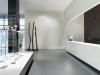 Reception area with coporate art work