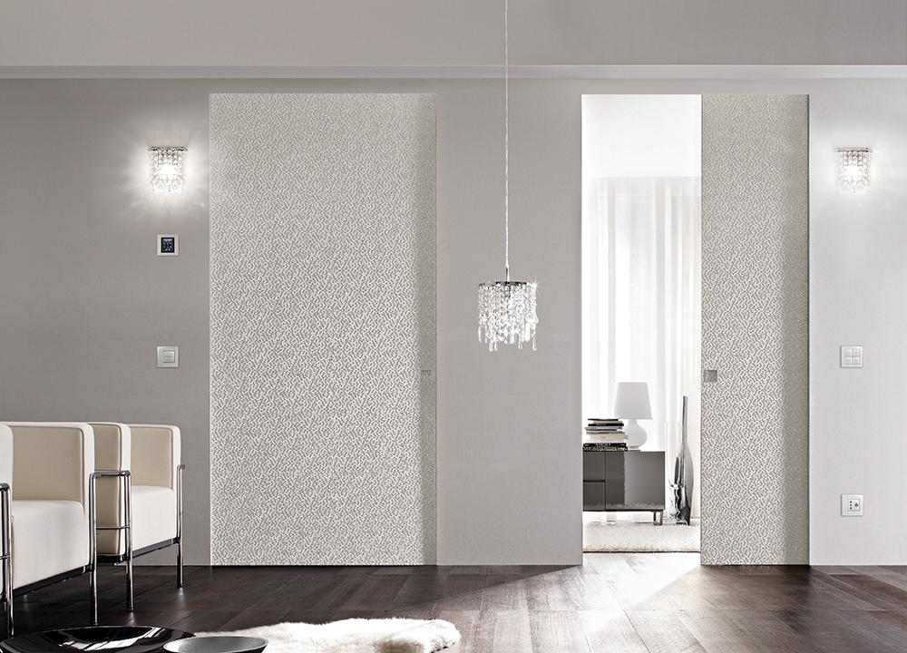 Porte filo muro per un impatto elegante pulito e lineare - Porta filo muro prezzo ...