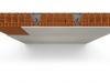 Protezione REI 180 in ERACLIT-MgO 12 mm di solaio in laterocemento