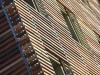 Dettaglio di facciata ventilata