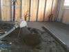 Realizzazione di sottofondo per pavimento interno
