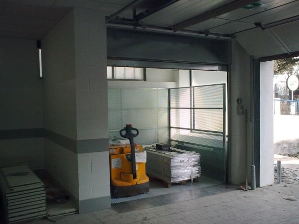 Montacarichi minilift m2 for Planimetrie della casa del garage