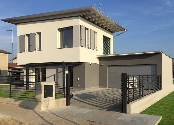 Marlegno azienda esperta in case in legno passive - Esterni case moderne ...