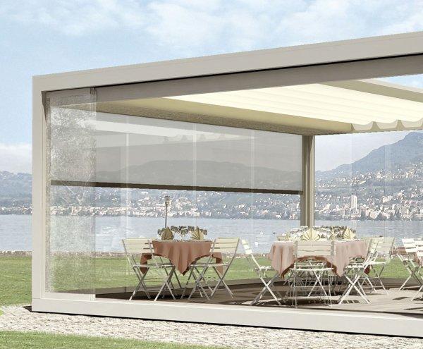 Tende per terrazzi melano - Tende per finestre grandi ...