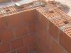 Angolo realizzato con muratura armata