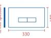 placca ECO linea 330x180
