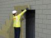 10_Incollaggio dei pannelli isolanti nelle aperture di facciata